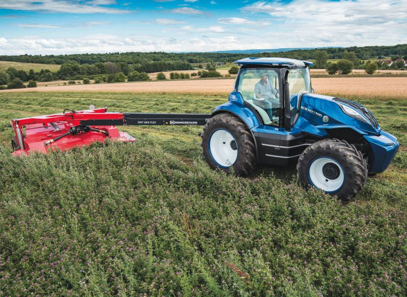 New Holland concept - is this the future for tractors