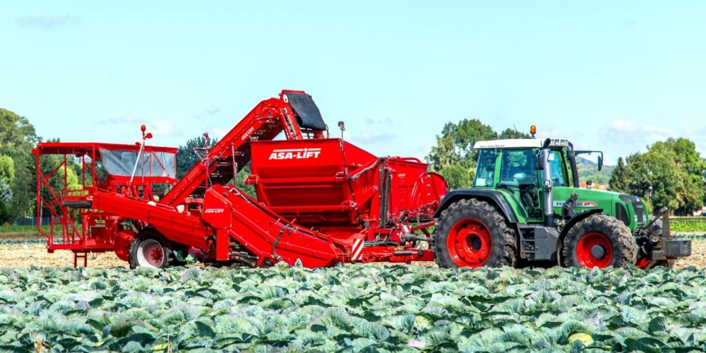 Asa-Lift blue replaced by Grimme red