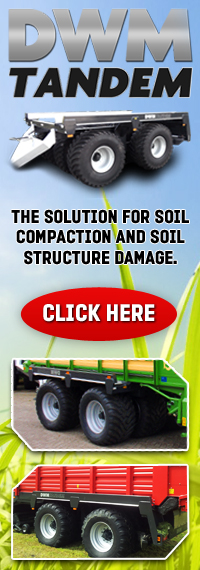 DWM Tandem, the solution for compaction and soil structure damage.