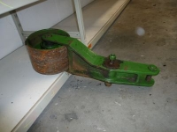 Used parts for forage harvesters John Deere Support-roll power belt