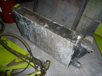 Used parts for forage harvesters Claas Intercooler